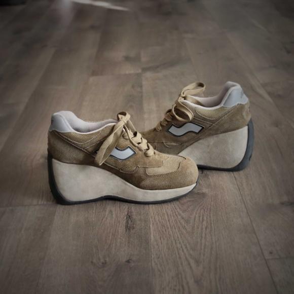 Sugar Platform Sneakers Vintage Raver